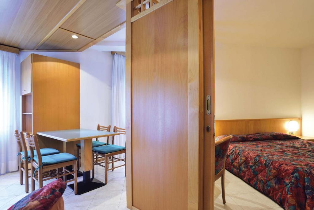 Ein-Zimmer Wohnung Typ B - 4 Schlafplätze
