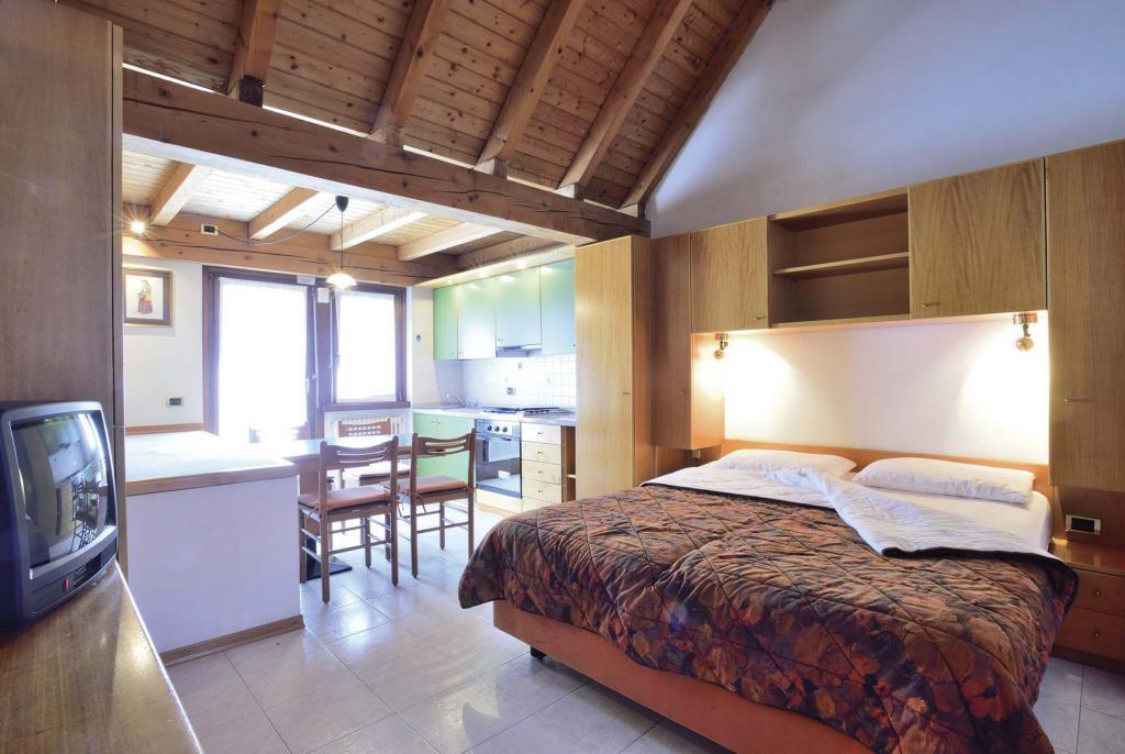 Ein-Zimmer Wohnung - 3 Schlafplätze