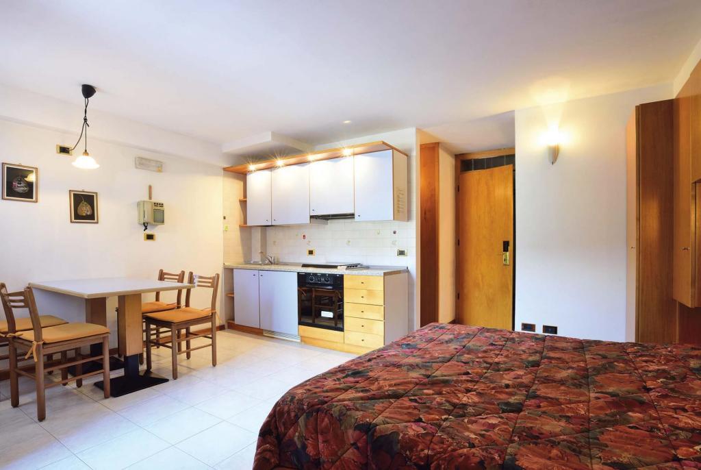 Ein-Zimmer Wohnung Typ A - 4 Schlafplätze